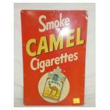 12X18 SMOKE CAMEL CIGARETTES SIGN