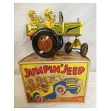 """6IN MARX """"JUMPING JEEP"""" #22C WINDUP"""