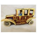 7IN MARX ARCHIE & VERONICA WINDUP CAR