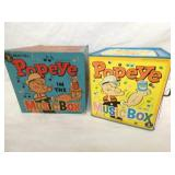 POPEYE MUSIC BOX W/ ORIG. BOX