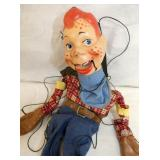VIEW 2 CLOSEUP HOWDY DOODY MARIONETTE