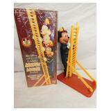 11IN MICKEY MOUSE LADDER CLIMBING FIREMAN W/ BOX