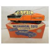 7IN MARX LUPAR MECHANICAL TOYS FRICTION CAR