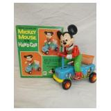 5IN BATTERY OP MICKEY MOUSE W/ BOX