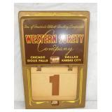 10X15 WESTERN SURETY CALENDAR PAD