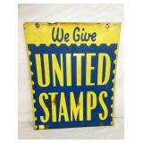 20X24 UNITED STAMPS SIGN