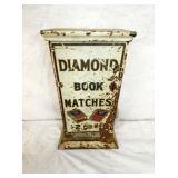 8X13 1CENT DIAMOND BOOK MATCHES DISPENSER