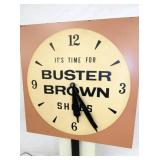 """VIEW 2 """"ITS TIME FOR BUSTER BROWN SHOES"""" ADV."""