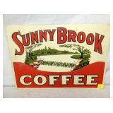 14X20 SUNNY BROOK COFFEE SIGN