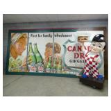 RARE 10FT.X20FT. CANADA DRY BILLBOARD SIGN