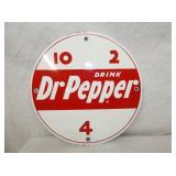 10IN PORC. 10-2-4 DR. PEPPER SIGN