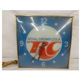 15IN ROYAL CROWN COLA CLOCK