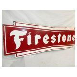 VIEW 2 CLOSEUP PORC FIRESTONE SIGN