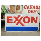 45X83 PORC. EXXON SIGN