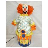 ANIMATED BOZO THE CLOWN STORE DISPLAY
