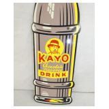 VIEW 2 CLOSEUP KAYO DRINK BOTTLE SIGN