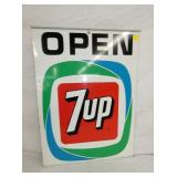 VIEW 2 OTHERSIDE 7UP OPEN SIGN