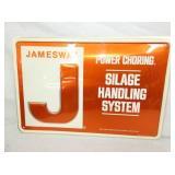 12X18 EM. JAMESWAY HANDLING SYSTEM SIGN