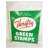 16X18 THRIFTY GREEN STAMPS FLANGE