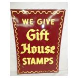 20X27 1961 GIFT HOUSE STAMPS SIGN