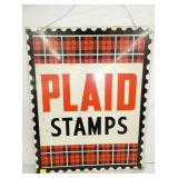24X30 PLAID STAMPS SIGN