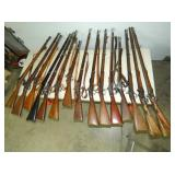 GROUP PICTURE MILITARY RIFLES