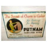 PUTNAM FADELESS DYES CABINET