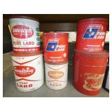 HONEY CUT,FROSTY, OTHER TINS