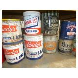 LUNDYS,HYGRADES,CAPITOL,LUTERS TINS