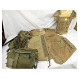 MILITARY CANVAS BAGS, BACKPACKS