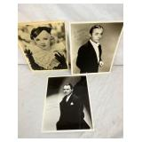 AUTOGRAPHED CHARLES BOYER,DIXIE KEE,ROBINSON