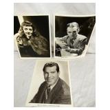 AUTOGRAPHED JAMES CAGNEY,BETTY DAVIS,FRED MURRAY