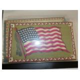 COLLECTION EARLY SILK TOBACCO FLAGS