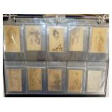 COLLECTION EARLY TOBACCO TRADE CARDS