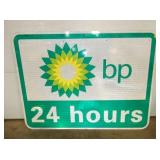 36X48 BP 24HOURS ROAD SIGN