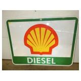 36X48 SHELL DIESEL ROAD SIGN