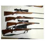 COLLECTION OF RIFLES,SHOT GUNS, AMMO