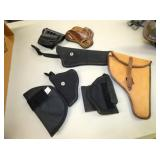 UNCLE MIKE, FUBUS, LEATHER HOLSTERS