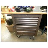 CRAFTSMAN TOOL CHEST W/ WORK TABLE TOP
