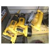 DEWALT RECEPICATING SAWS