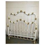 ORNATE FULL SIZE IRON BED