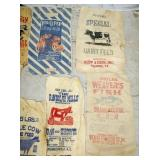 CLOTH FEED SACKS ASHEBORO,WINSTON,FRANKLINVILLE