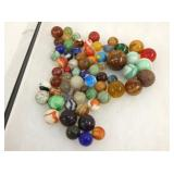 COLLECTION EARLY MARBLES