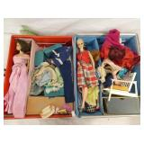 VIEW 2 INSIDE VIEW W/ DOLLS, CLOTHS