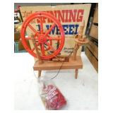 REMCO LITTLE RED SPINNING WHEEL W/ BOX