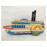 VIEW 2 OTHERSIDE RIVER STEAMBOAT TOY