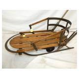 VIEW 2 CLOSE UP EARLY CHILDS PUSH SLED