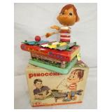 BATTERY OP PINOCCHIO XYLOPHONE