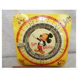 VIEW 2 MICKEY MOUSE SPIN GAME W/OG. BOX
