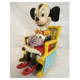 MARX WIND UP MINNIE MOUSE